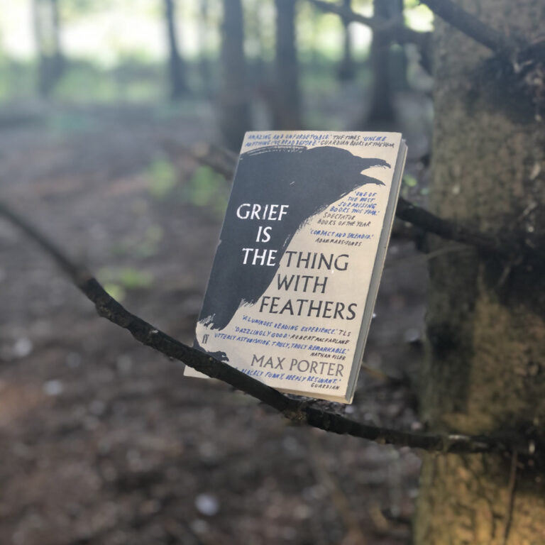 """""""Grief is the Thing with Feathers"""" by Max Porter BOOK REVIEW"""