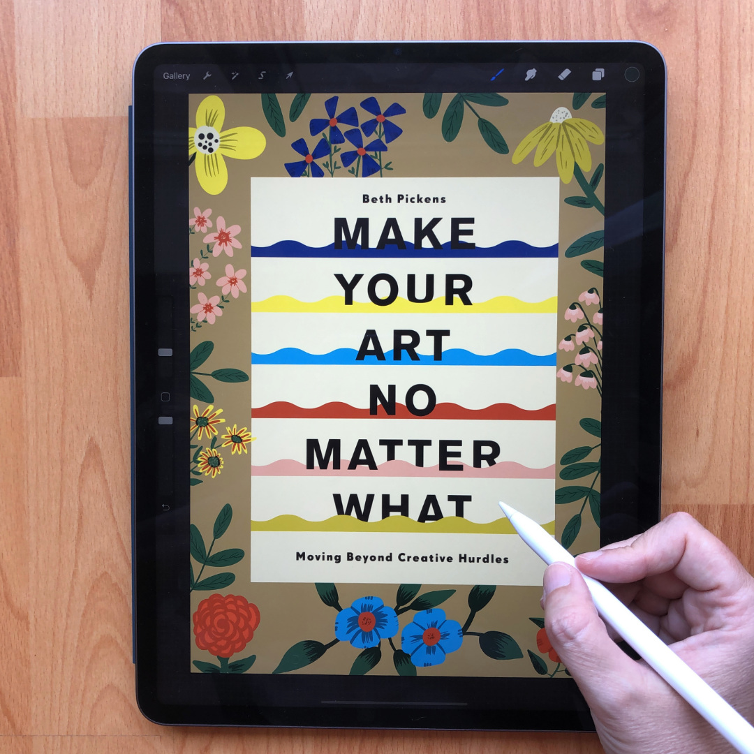 """Read more about the article """"Make Your Art No Matter What"""" by Beth Pickens BOOK REVIEW"""